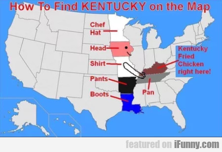 How To Find Kentucky On The Map