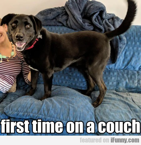 first time on a couch