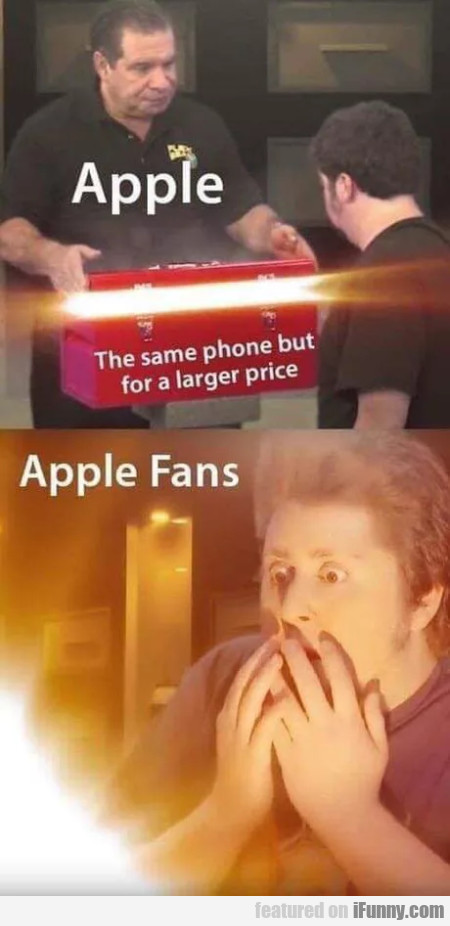 Apple - The same phone but for a larger price
