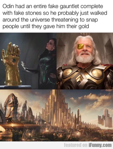 Odin Had An Entire Fake Gauntlet Complete
