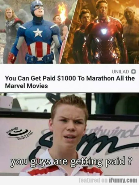 You Can Get Paid $1000 To Marathon All The...