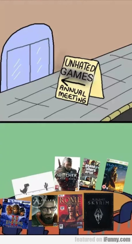 Unhated games - Annual meeting