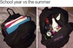 School Year Vs The Summer