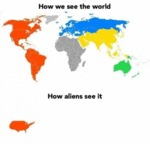 How We See The World - How Aliens See It