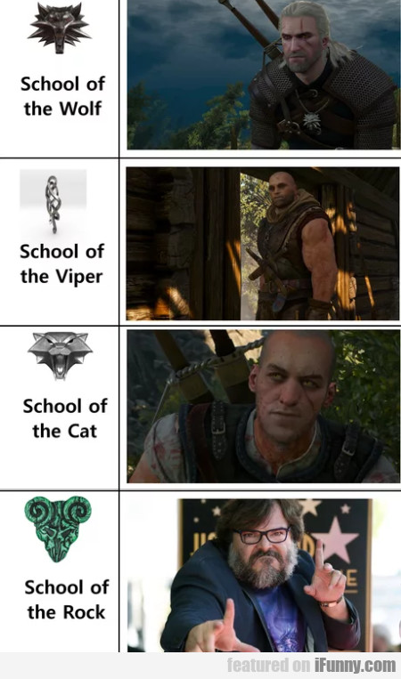 School Of The Wolf - School Of The Viper...