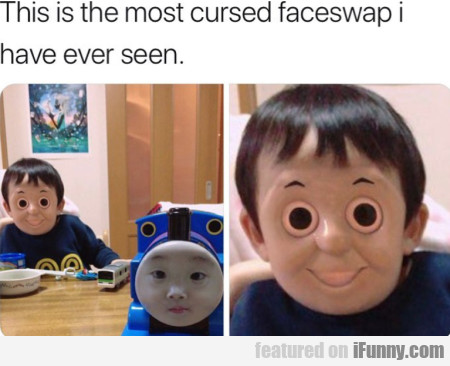 This is the most cursed faceswap I have ever seen