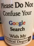 Please Do Not Confuse Your Google Search