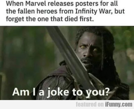 When Marvel releases posters for all the fallen...