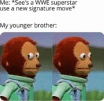 Me - See's A Wwe Superstar Use A New...