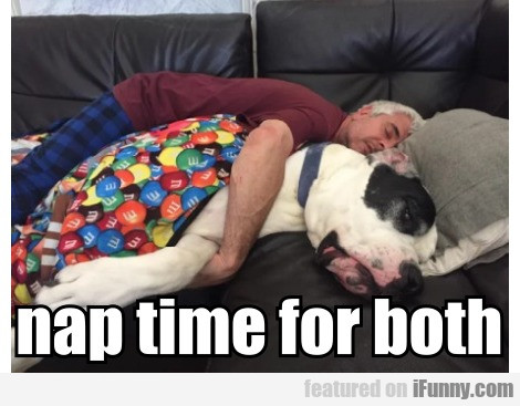 Nap Time For Both