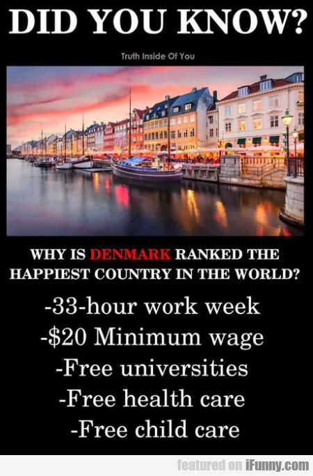 Did You Know - Why Is Denmark Ranked The...