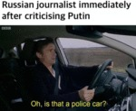 Russian Journalist Immediately After Criticising