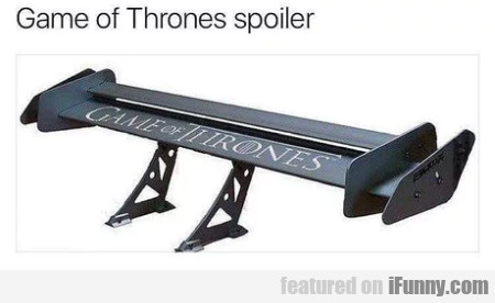 Game Of Thrones Spoiler