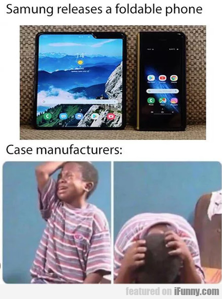 Samsung Releases A Foldable Phone - Case...