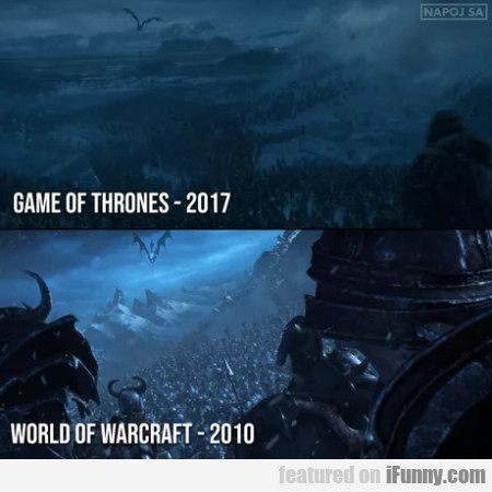 Game of thrones - World of warcraft