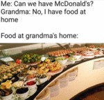 Me - Can We Have Mcdonald's - Grandma