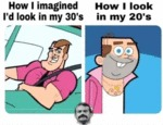How I Imagined I'd Look In My 30s