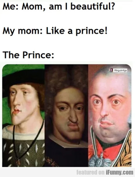 Me - Mom Am I Beautiful - My Mom - Like A Prince