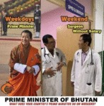 Prime Minister Of Bhutan - What Does Your...