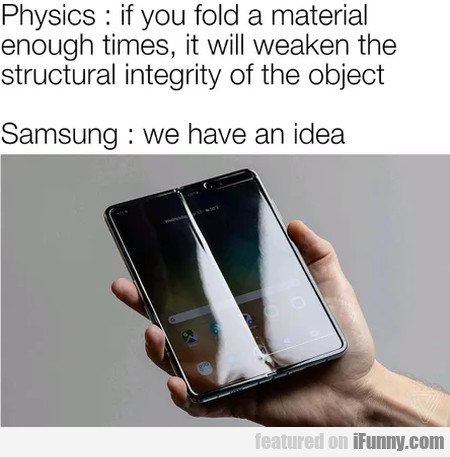Physics - If You Fold A Material Enough Times