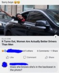 It Turns Out, Women Are Actually Better Drivers