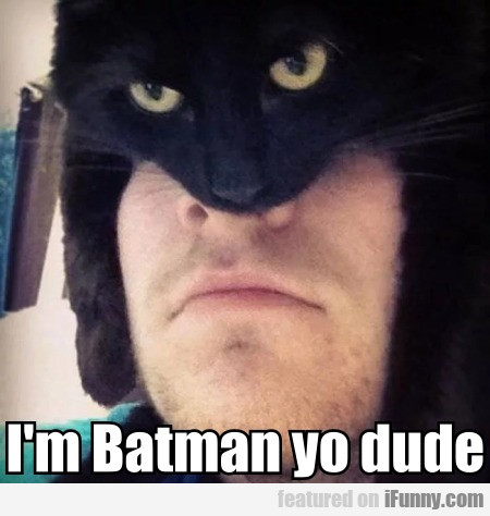 I'm Batman Yo Dude