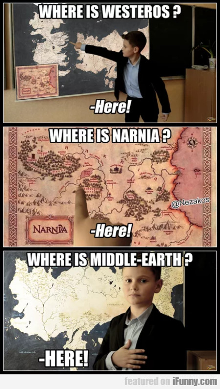 Where Is Westeros - Where Is Narnia