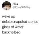 Wake Up Delete Snapchat Stories