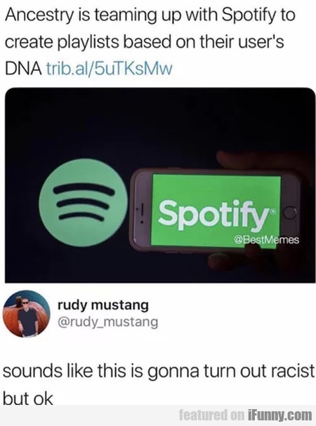 Ancestry Is Teaming Up With Spotify To Create...