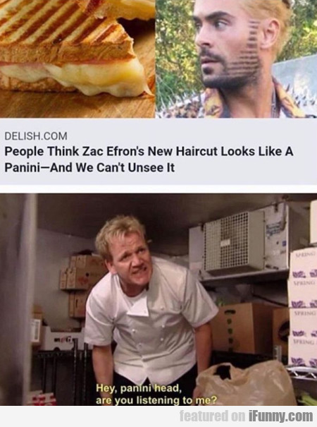 People Think That Zac Efron's New Haircut...