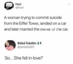 A Woman Trying To Commit Suicide...