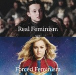 Real Feminism Vs Forced Feminism...
