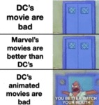 Dc's Movies Are Bad - Marvel's Movies Are...