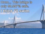 Hmm... This Bridge Is Only 99.997 Safe. I Think...