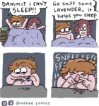 Dammit I Can't Sleep! Go Sniff Some Lavender...