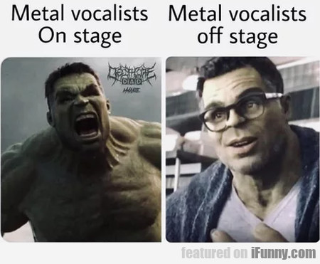 Metal Vocalists On Stage - Metal Vocalists