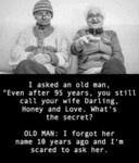 I Asked An Old Man - Even After 95 Years...