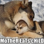 Mother Eats Child