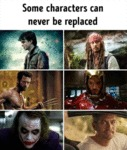 Some Characters Can Never Be Replaced