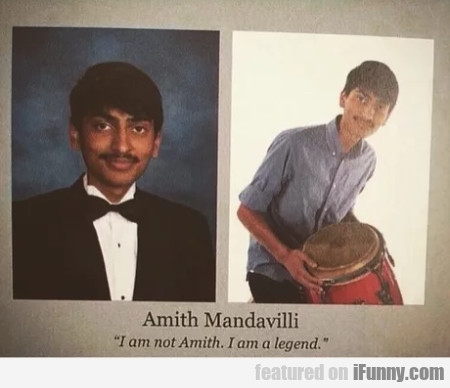 Amith Mandavilli - I Am Not Amith