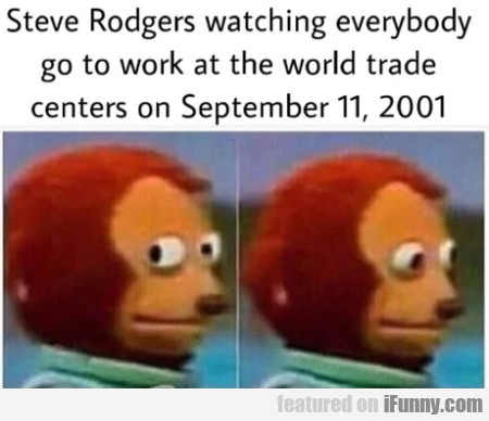 Steve Rodgers watching everybody go to work...