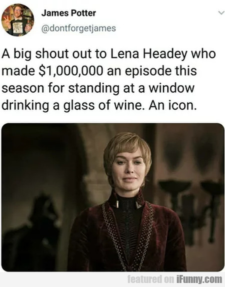 A Big Shout Out To Lena Headey Who