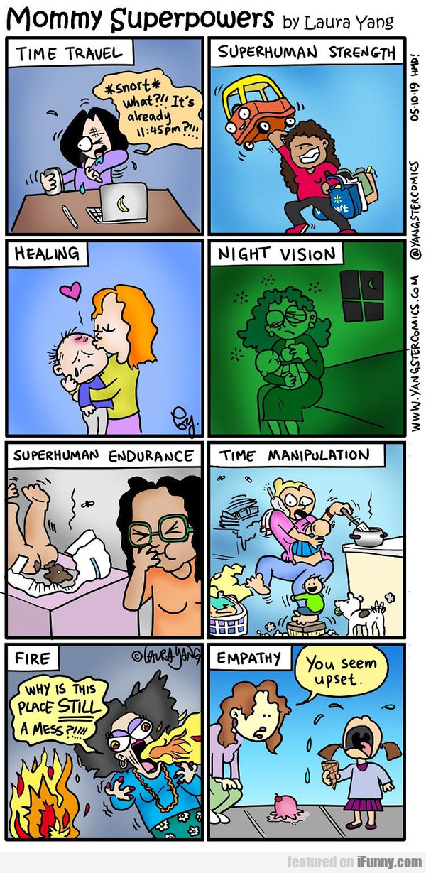 Mommy Superpowers