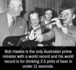 Bob Hawke Is The Only Australian Prime...