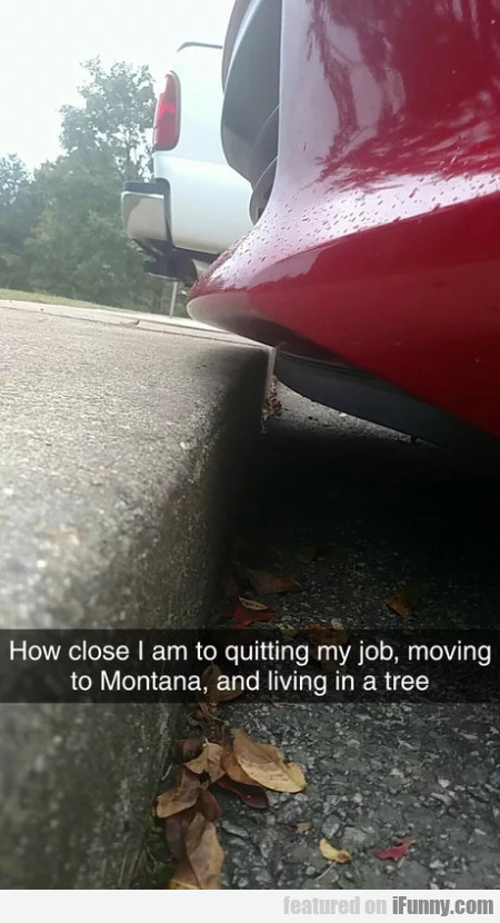 How Close I Am Moving To Quitting My Job