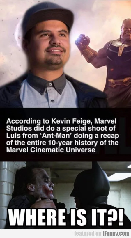 According To Kevin Freige, Marvel Studios Did...