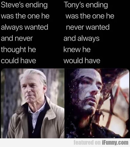 Steve's ending was the one he always wanted