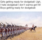Girls Getting Ready For Dodgeball - Ugh...