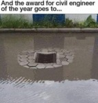 And The Award For Civil Engineer Of The Year