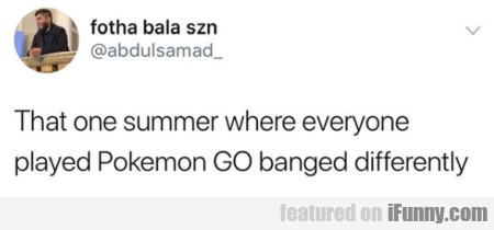 That One Summer Where Everyone Played Pokemon Go